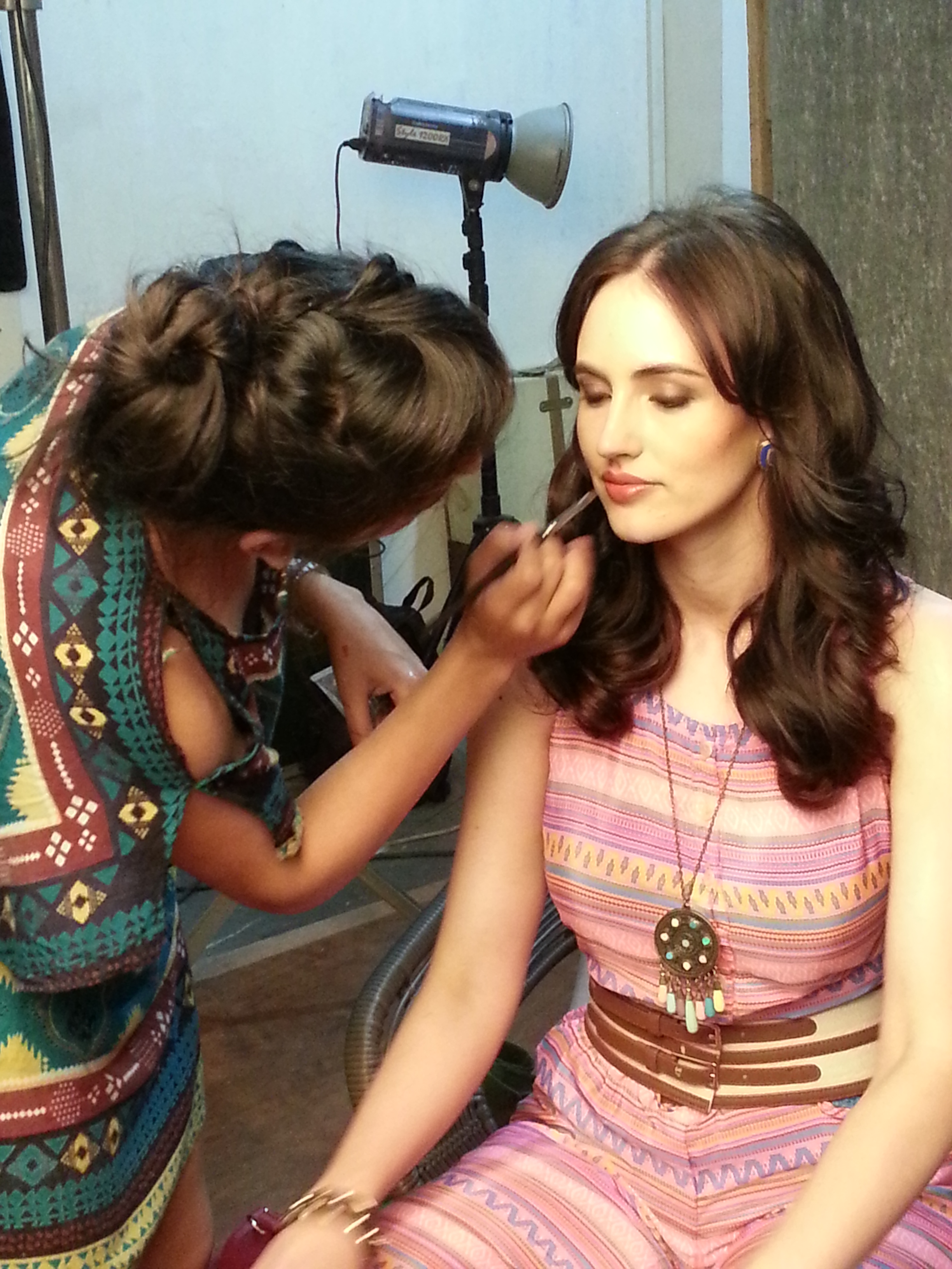 On Set For Shoppers Stop
