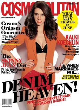 Cosompolitan Cover With Kalki Koechlin